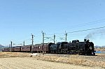 EF64 37 + 旧型客車5B + C61 20 ELレトロ碓氷(9135レ)[後追い]
