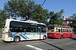 横浜市営バス 20系統とあかいくつ