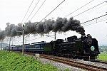 D51 498 + 12系客車6B SLみなかみ(8731レ)