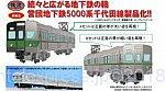 鉄道コレクション 営団地下鉄5000系 千代田線・非冷房車