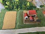 畑を作る 鉄道模型ジオラマ