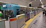 31033 井の頭線渋谷駅 1番線ホームドア使用開始 30.12.2.jpg