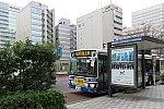 川崎鶴見臨港バスとホテル前バス停