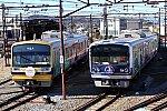 190127_伊豆箱根_ラブライブ電車並び1
