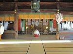 2019.1.25 (6) 諏訪大社下社秋宮 - 神楽殿(かぐらでん) 2000-1500