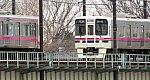1053-1 多摩川を渡る9001F+7424F 聖蹟桜ヶ丘 31.2.19.jpg