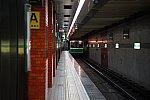 長田駅に到着する中央線電車