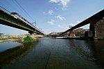 西武池袋線 10000系 レッドアロー 桜 鉄橋 入間川
