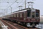 阪急8000系車両誕生30周年記念列車ヘッドマークなし8000×8R