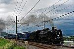C61 20 + 12系客車5B SL YOGISHAみなかみ(9731レ)
