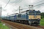 EF64 1001 + 12系客車5B + C61 20 ELぐんまよこかわ(9135レ)
