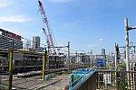 旧・田町車両センター再開発の進捗 2019年6月下旬