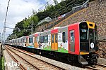阪神なんば線開業10周年ラッピング1210F