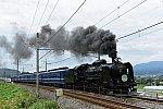 C61 20 + 12系客車5B SLぐんまみなかみ(8731レ)