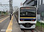 佐原駅にて鹿島線に乗り換え