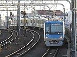 【ダイヤ改正で新設!】東京メトロ16000系の青い各駅停車 取手行き