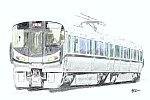 【イラスト】JR西日本 227系 SR05