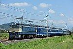 EF65 501 + 12系客車5B + C61 20 ELぐんまよこかわ(9135レ)