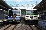 190915_駿豆線修善寺駅_DrSTONEと185系1