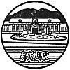 JR萩駅のスタンプ。