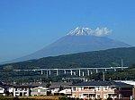 新幹線車窓 富士山