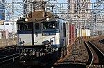 EF64-1005 市川駅