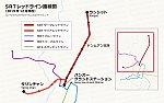 バンコク・レッドラインの路線図