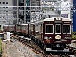 阪急京都線6354編成「京とれいん」 快速特急A梅田ゆき