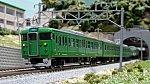 JR113系7700番台 N30体質改善車 京都地域色