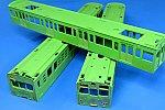 TOMIX 72・73形通勤電車 可部線塗り替え