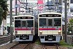 200112_京王聖蹟桜ヶ丘_7000系離合