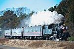 真岡鉄道SL新年号1