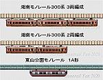 湘南モノレール300系3両編成