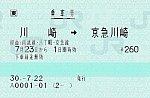 川崎⇔京急川崎 経由八丁畷 30.-7.22 -