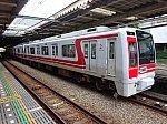 二俣川駅2番線に停車中の9705F各停湘南台行き(2015/5/31)
