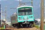 200404_大雄山線_ヒスイカズラトレイン1