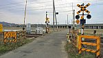 東北本線坂谷踏切X1方向1