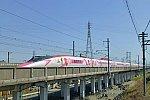 500系ハローキティ新幹線1