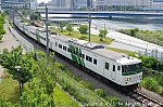 185系B5「Y160記念列車」 201905