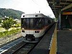 20180805しなの号大糸線白馬駅