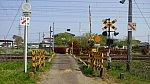 東北本線志賀沢踏切X1方向1
