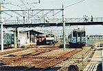 国鉄115系(JR西日本) 普通琴平ゆき「こんぴら」ヘッドマーク&国鉄EF65-1048(JR貨物) 貨物&国鉄キハ54形(JR四国) 留置車
