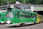 札幌市電マスク電車a01