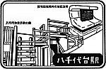 京成電鉄八千代台駅のスタンプ。
