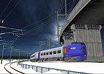 仮想日本海縦幹線雪景色キハ283系4