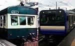 新旧横須賀色 - 御殿場線クハ79とE235系1000番台