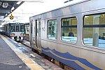 泊駅でのあいの風とやま鉄道とえちごトキめき鉄道の乗り換えは同一ホーム