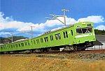 グリーンマックス 103系(関西形・ウグイス・NS407編成・グレー台車)
