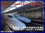 恐れていた!全車指定席ひかりの運転宣言! 東海道・山陽新幹線臨時列車運転(2020年10月~2020年11月秋期間)