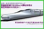 整備新幹線の320km/h運転実現は新型車両のみか! 東北新幹線盛岡~新青森間最高速度引き上げに伴うダイヤ改正予測(2028年予定)